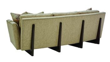 Austin Sofa shown with:Boxed bench seatBombay finishSilver nailhead trim