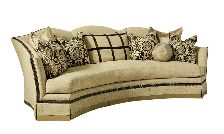 Bon Avery Sofa Shown With:Boxed Bench SeatDeep Skirt With Built In Sides And  BackContrast ...