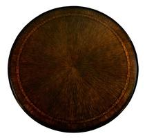 Bolero Dining Table top shown with:Havanafinishwith Ebony paint trimDecorative Walnut inlay