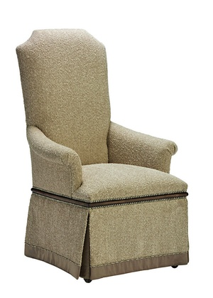 Cross Channel Arm Chair