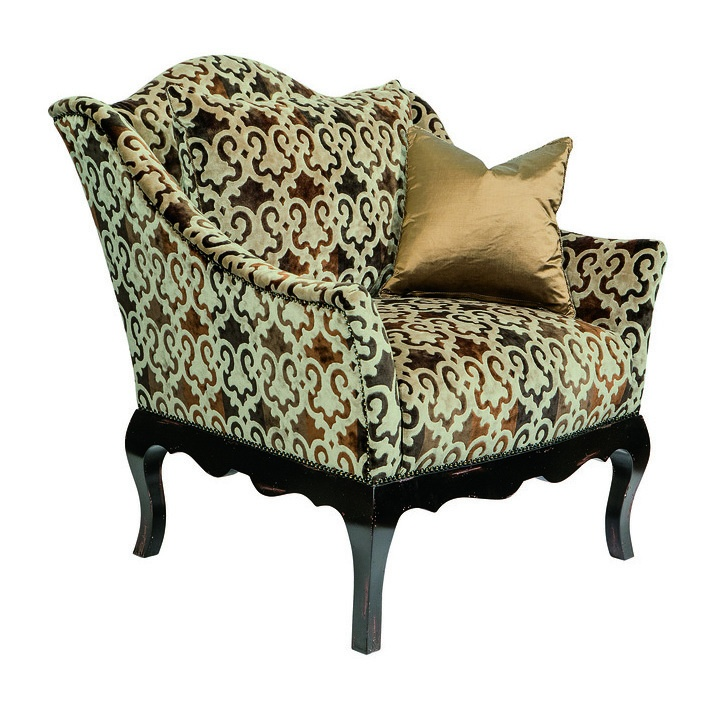 Courtney Chair Shown With:Tight SeatOld World Vintage Noir Finishu0026nbsp;on  Exposed Wood LegsAntique