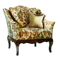 Courtney Chair shown with:Tight seatSignature finish on exposed wood legsAntique Brass nailheadframe trim Available in selection of finishes