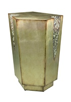 Geode Chairside Table shown with:Versailles finish