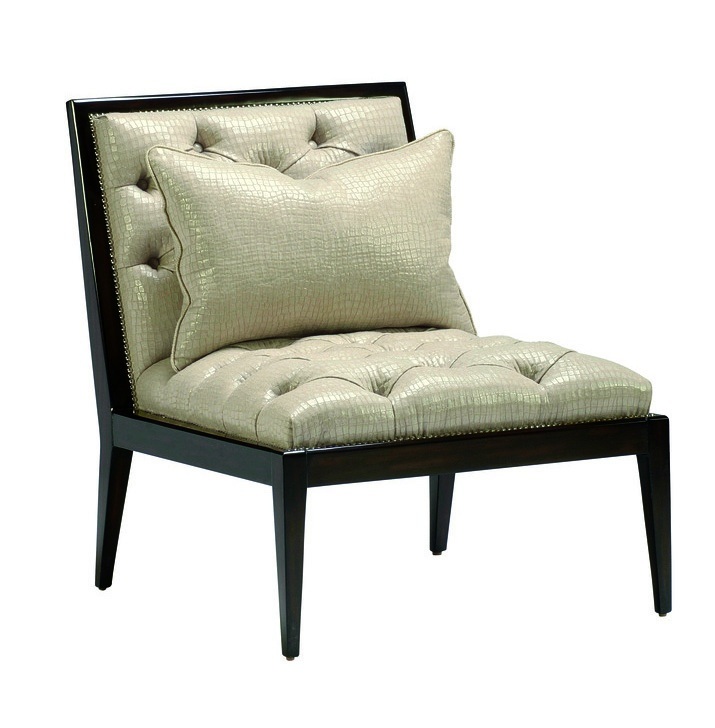 Bon Greenwich Chair Shown With:Bombay FinishSilver Nailhead Frame Trim