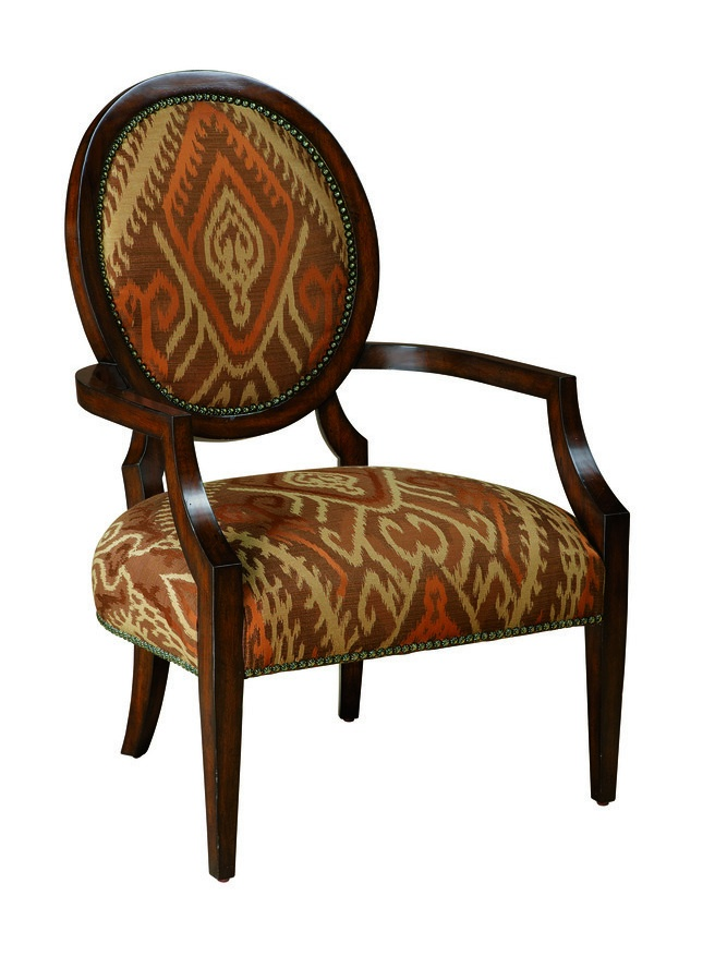 Hollis Lounge Chair shown with:Tight seat and backBombay finishGlitterati nailhead frame trim