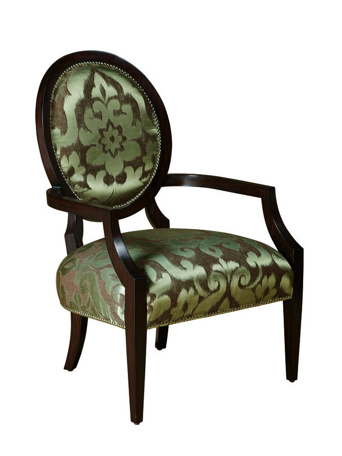 Hollis Lounge Chairshown with:Tight seat and backBombay finishGlitteratinailhead frame trim