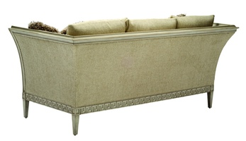 Ionia Sofa shown with:Boxed bench seatDover finishPewter nailhead frame trim