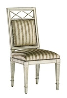 Ionia Side Chairshown with:Tight seat and backDoverfinishSilverStarnailhead frame trim