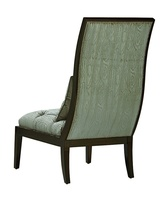 Mallory Lounge Chair shown with:Tightseat and backBombay finishSilvernailhead frame trim