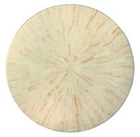 Malibu Round DoorChest top shown with:PolishedCrystal Stone Beige