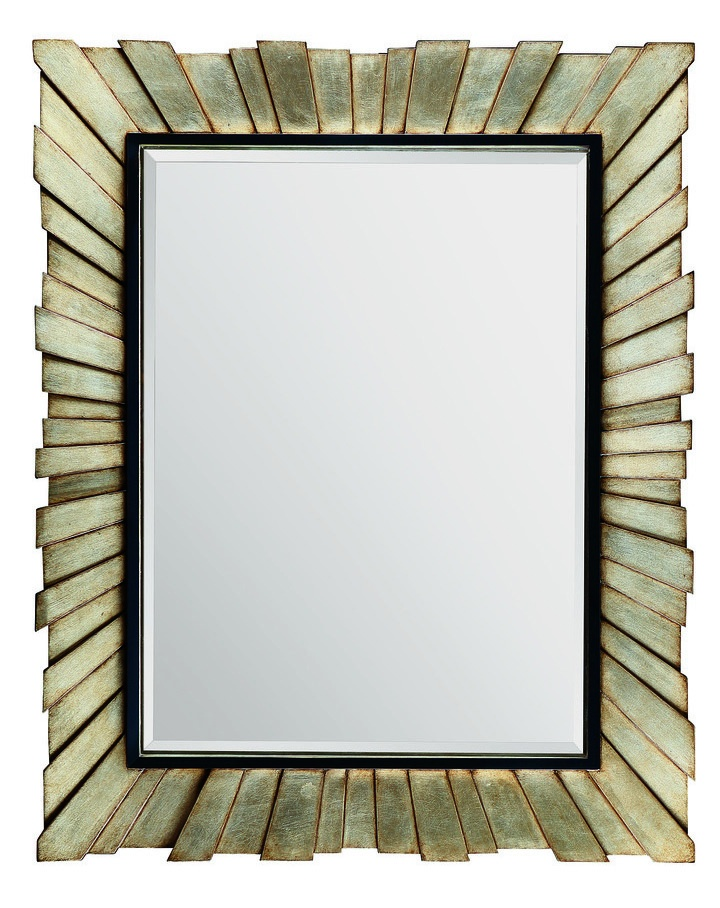 Malibu Mirror shown with:Versailles finishEbony paint finish trimClear mirror with beveled edge
