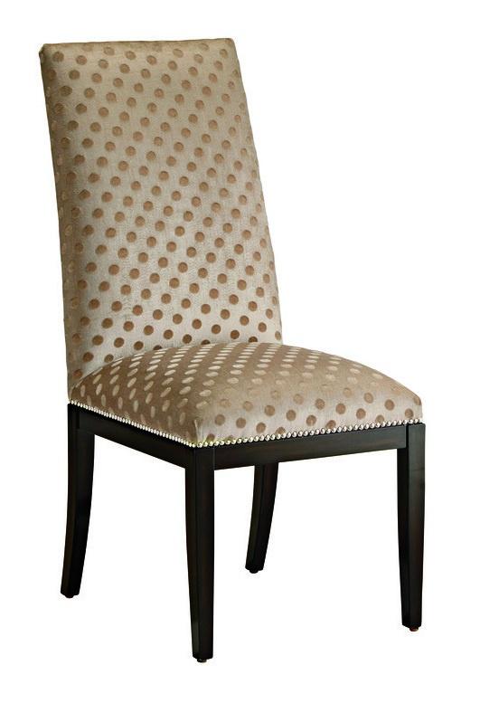 SilverlakeSide Chairshown with:Tight seat and backBombayfinishMerenguenailhead frame trim