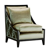 TorinoChairshown with: Boxed seat cushion Bombay finish Silver nailhead frame trim