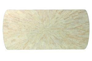 Malibu Deskshown with:Polished Crystal Stone Beige