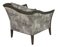 Anastasia Chair shown with:Tight seatAntique Medici finishGunmetal nailhead frame trim