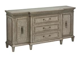 Arcadia Dresser shown with:Dapple finishBronzed Silver Leaf finish trimAntique Nickel hardware