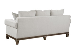 Arcadia Sofa shown with:Boxed bench seatSignature finish with Burnished Silver Leaf finish trimSelf Welt frame trim