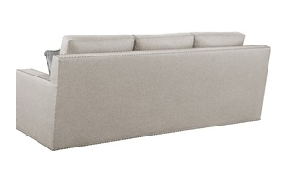 Bryant Sofa shown with:Built-to-the-Floor baseGunmetal nailhead trim spaced over fabric tape