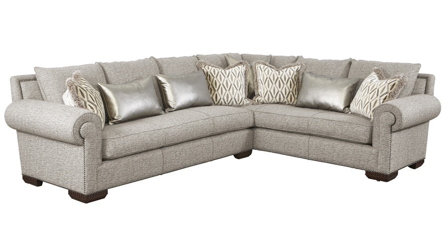 Attractive Bentley Sectional Shown With:BY53S And BY73SBoxed Bench  SeatBuilt To The Floor ...
