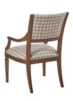 Wood Finish:CadenceNailhead Frame Trim: SmallMottled Fabric:Durham Houndstooth6C0094Alternate fabrics available