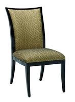Wood Finish:Caviar Fabric: Solvang Gold6C0003Alternate fabrics available