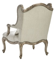 Coco Chairshown with:Tuftedseat with Silver Star buttonsBronzed Silver finishVerona Silver Leaf finish trimSilver Star nailhead trim