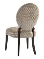 Century City Side Chair shown with:Tight seat and backBombay finishSilver nailhead frame trim
