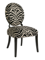 Century City Side Chair shown with:Tight seat and backSumatra finishSilver nailhead frame trim