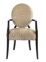 Century City Arm Chair shown with:Tight seat and backBombay finishSilver nailhead frame trim