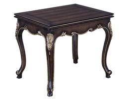 CalaisEnd Table shown with:Dark BayfinishAgedMedicifinish trim