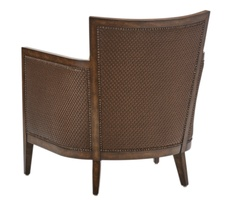 Calistoga Chair shown with:Boxed seat cushionSaddle finishMottled nailhead frame trim