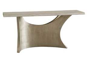 Eclipse Console shown with:Base in Cashmere Silver finishTop in Malt finish