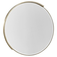 Eclipse Mirror shown with:Cashmere Silver finish