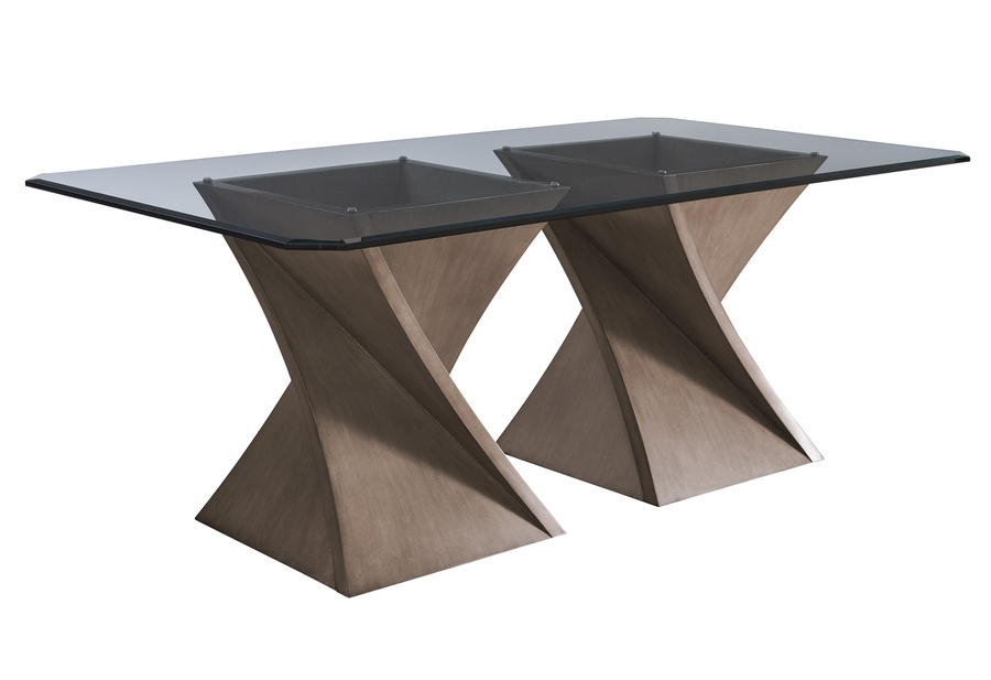 Eclipse Dining Table shown with:Slate finish