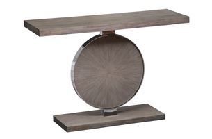 Equinox Console shown with:Slate finishStainless Steel accent