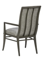 Equinox Arm Chair shown with:Tight seat and backSlate finish
