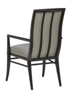 Equinox Arm Chair shown with:Tight seat and backBombay finish