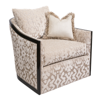 Gatsby Chair shown with:Boxed bench seatBuilt-to-the-floor baseBombayfinishSilver nailhead frame trim