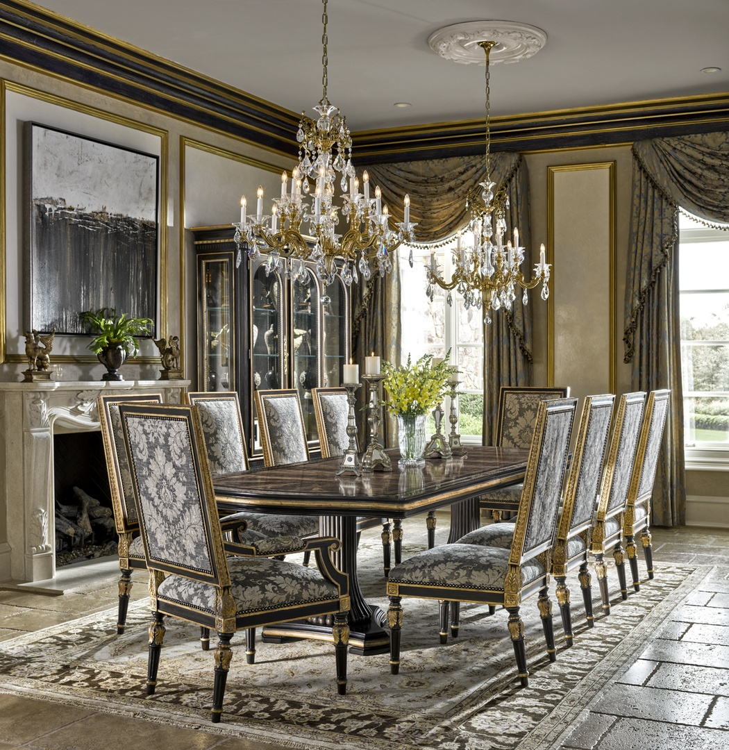 grand traditions dining room marge carson rh margecarson com marge carson dining room marge carson bolero dining table