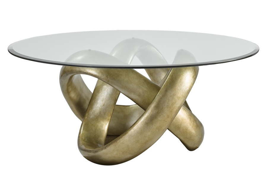 Infinity Dining Table shown with:Versailles finish