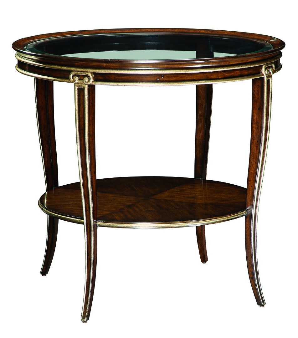 Ionia Round End Table. Save Image