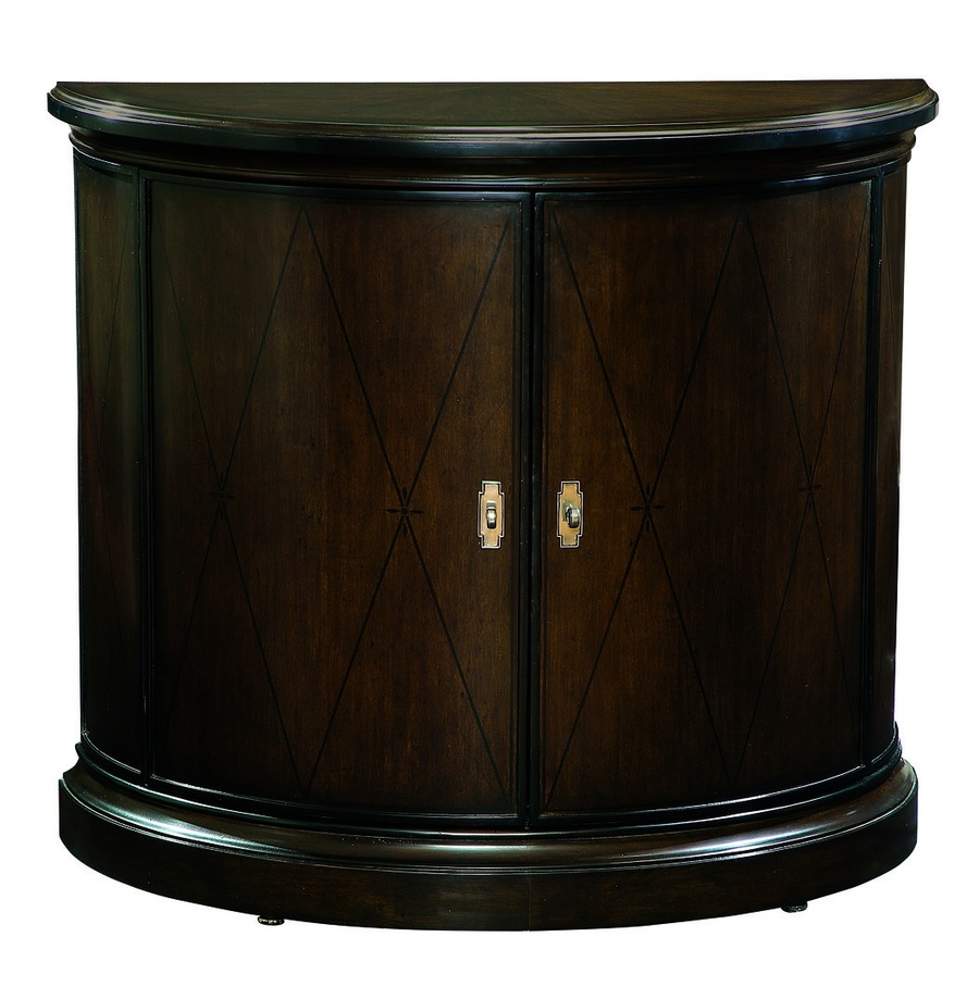 Ionia Nightstand shown with:Orleans finishEbony Paint finish trimAntique Nickel hardware