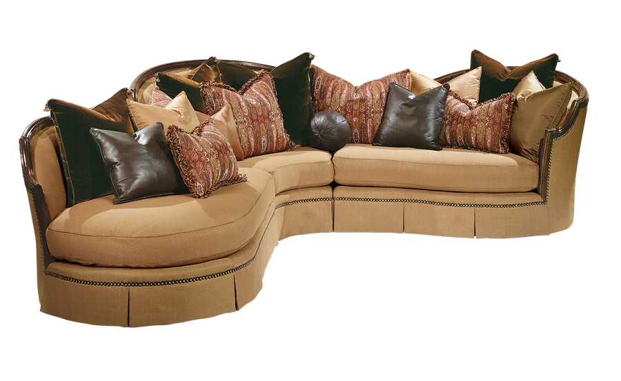 Isadora Sectional  sc 1 st  Marge Carson : marge carson bentley sectional - Sectionals, Sofas & Couches