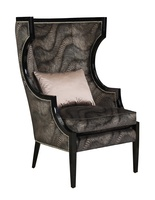 Karma Chair shown with:Caviar finishGlitteratinailhead frame trim