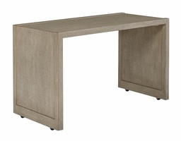 Libra Accent Table shown with:Dapple finishStandard with casters