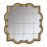 Majorca Mirror shown with:Aged Medici finishClear Mirror