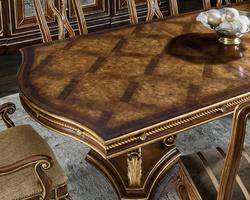 MajorcaDining Tableshown with:BriarfinishVenetian Goldfinish trim