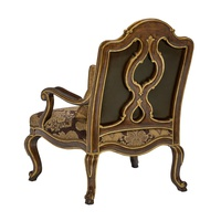Majorca Chair shown with:Briar finishVenetian Gold finish trimFrench Natural nailhead frame trim