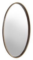 Maison Mirror shown with:Bombay finishBurnished Silver finish trim