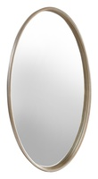 Maison Mirror shown with:Cashmere Silver finish